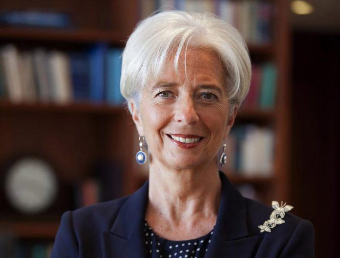 Christine Lagarde, IMF Re-Elects Lagarde