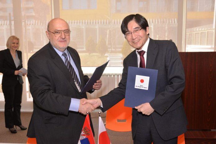 Japan Donated To Novi Sad Faculty of Technical Sciences Juichi Takahara