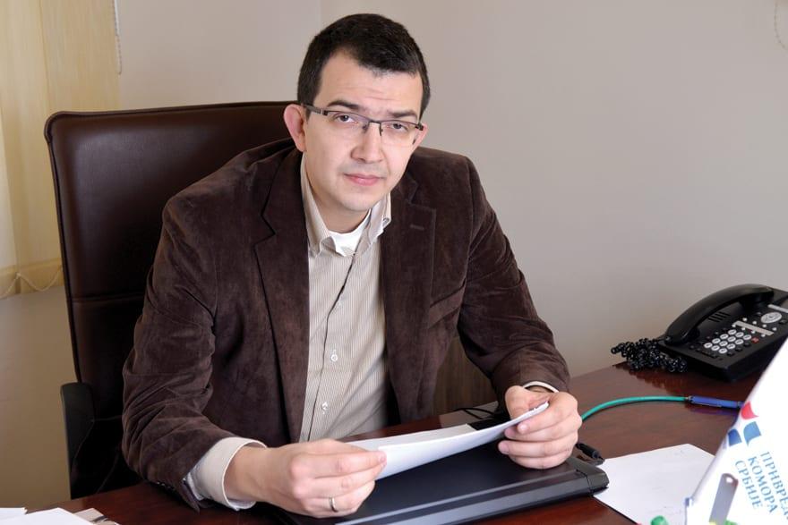 Veljko Jovanović, Serbian Chamber of Commerce