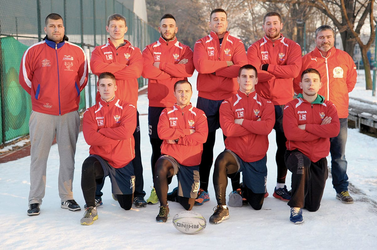 Sport Serbian Rugby League Red Star