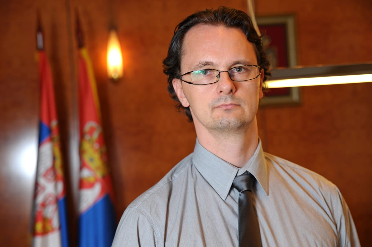 Srđan Verbić, Serbian Minister of Education, Science and Technological Development