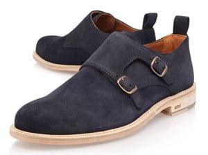 AMI Paris Double Buckle Monk Shoe