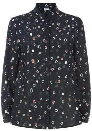 Armani Silk Spot Shirt