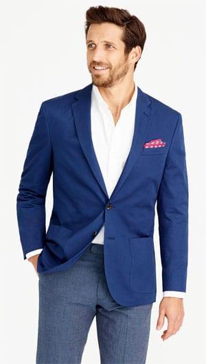 Crosby Blazer In Italian Cotton