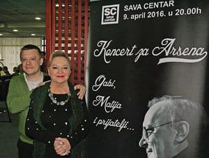 Concert for Arsen, Gabi, Matija & friends