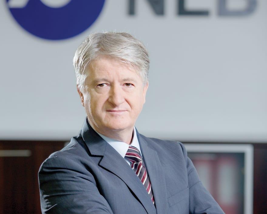 Branko Greganović, predsednik Izvršnog odbora NLB Banke Beograd