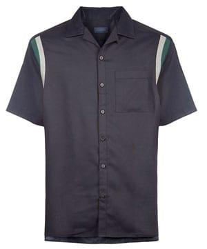 Lanvin Contrast Detail Shirt