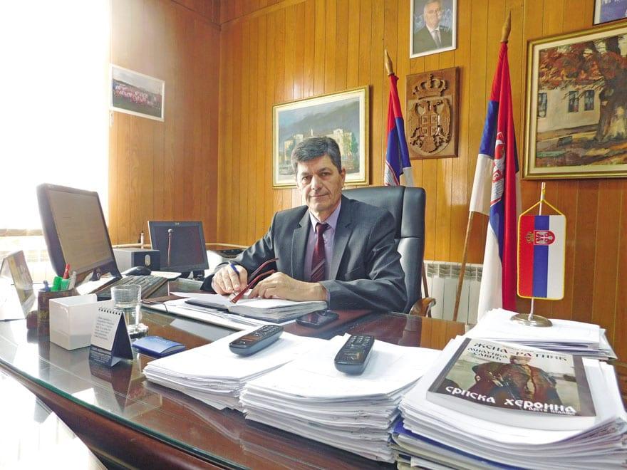 Milorad Milinković, President of the Municipality of Vladimirci