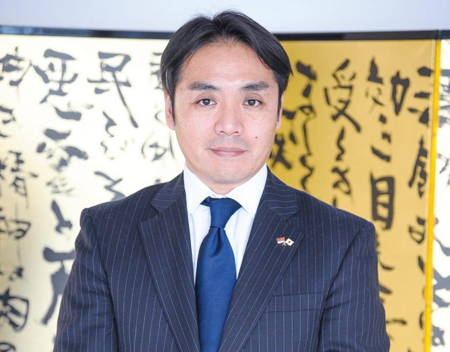 Yoshifumi Kanno, First Secretary at the Embassy of Japan