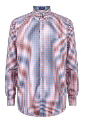 Paul & Shark Gingham Shirt