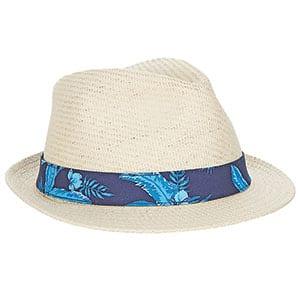 Gant Band Straw Trilby Hat