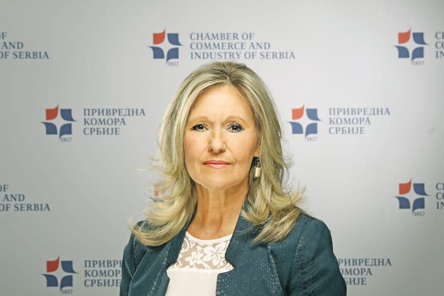 Gordana Hašimbegović, Secretary-General of the Serbian Chamber of Commerce & Industry's Trade Association