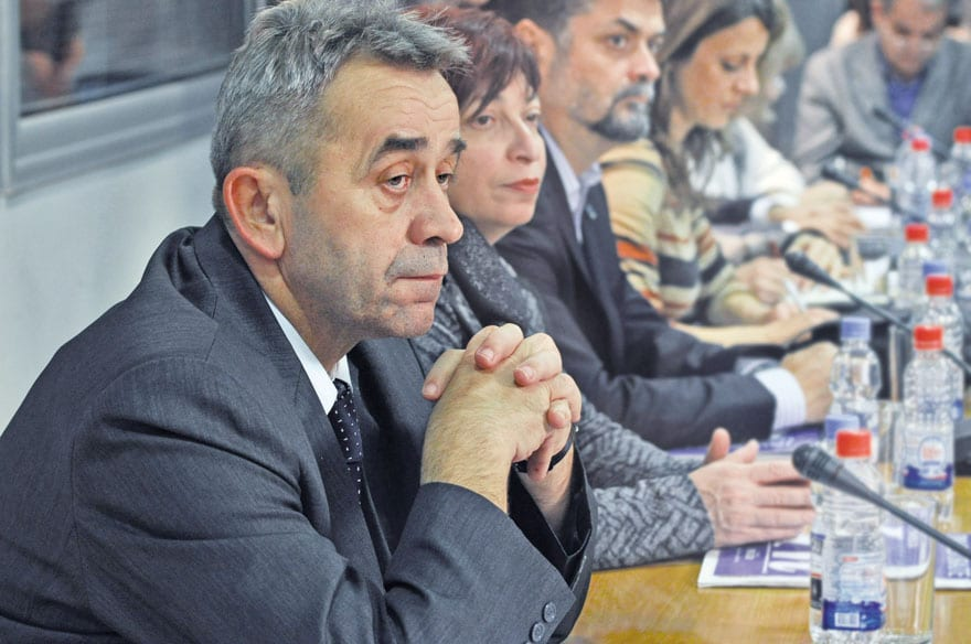Milan Selaković, President Of The Municipality Of Plandište