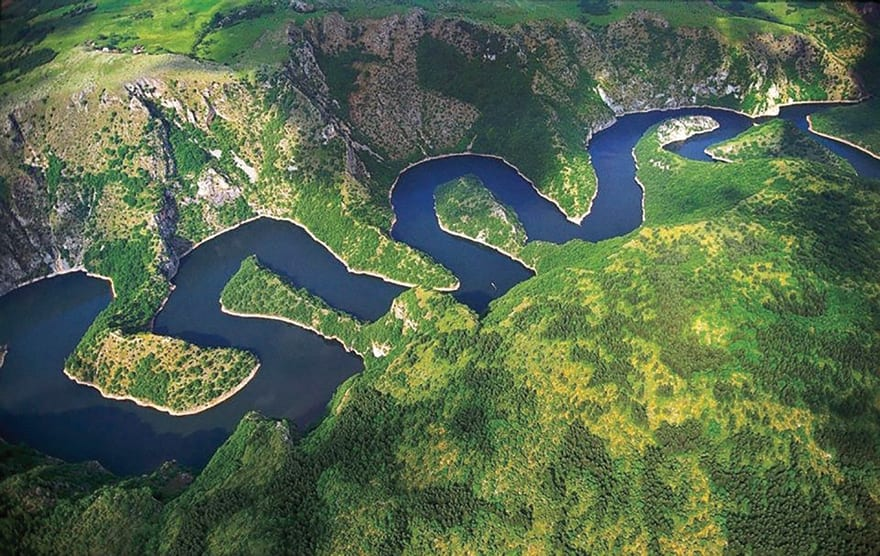 Is Europe's Freshwater Use Sustainable? Uvac river