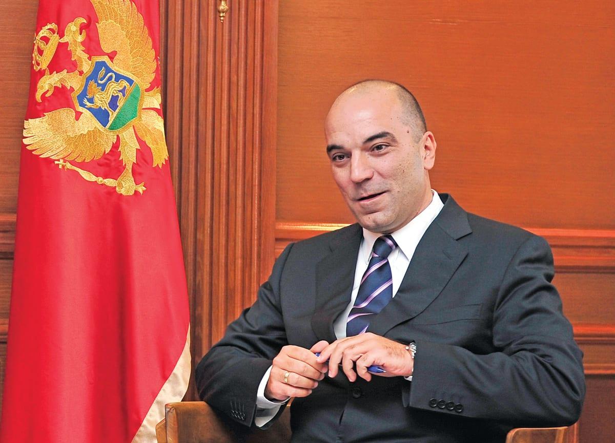 Vladimir Kavarić, Montenegrin Economy Minister