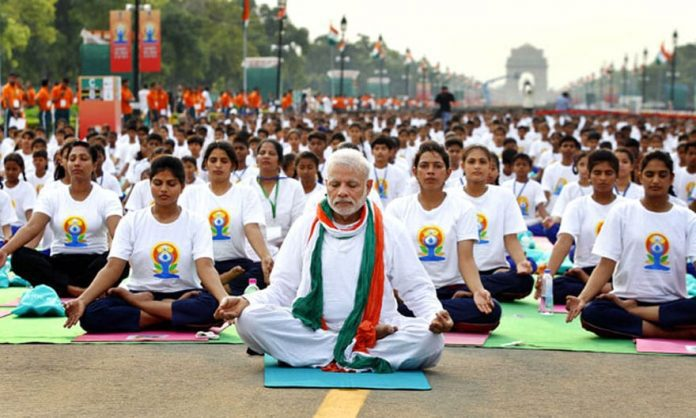 Modi India Yoga Day