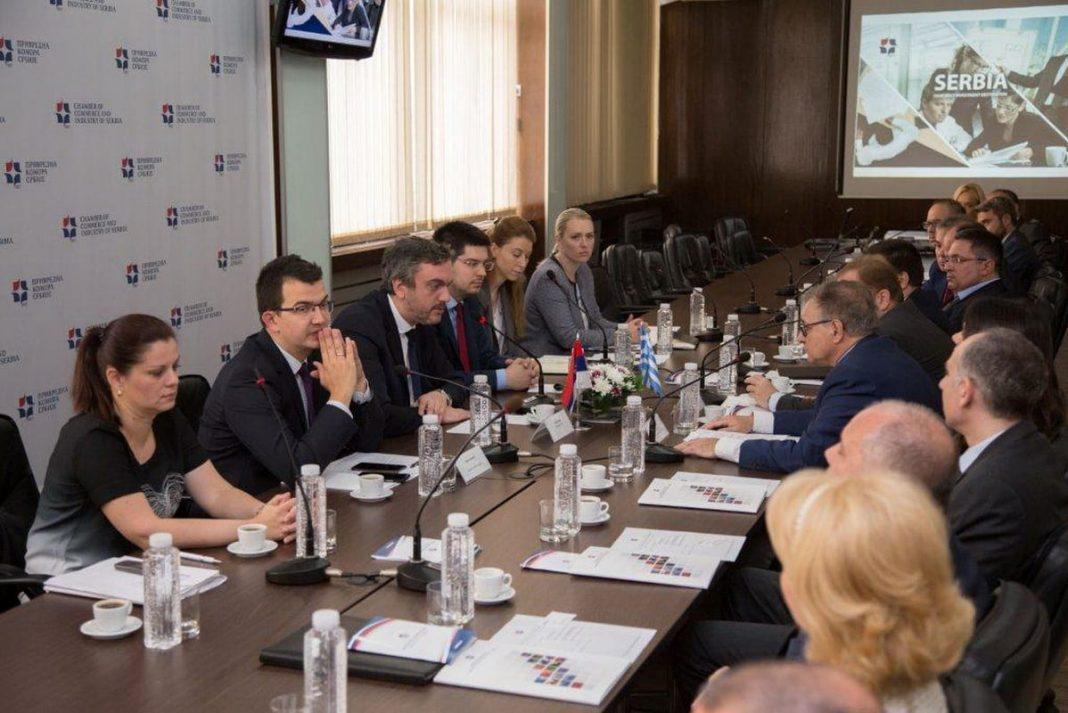 Representatives of Greek Companies Meet With Marko Čadež