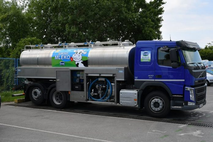 Imlek Invested About €700,000 in New Milk Tank Trucks