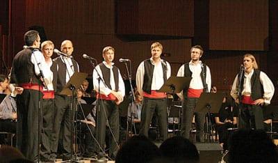 Dalmatian klapa singers