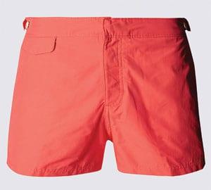 Fit Short Length Swim Shorts