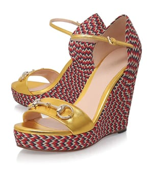 f495659cabe Gucci Carolina Espadrille Wedge Sandals - CorD Magazine