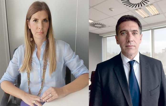 Jelena Stanković, Head of People Solutions, and Georgios Panoutsopoulos, Country Manager, ICAP Business services