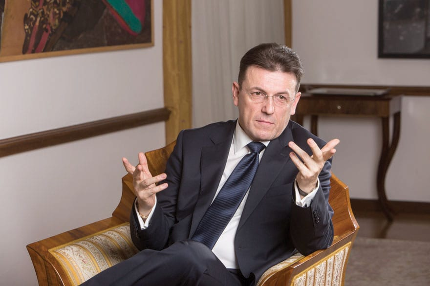 Luka Burilović, President of the Croatian Chamber of the Economy