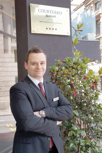 MISLAV MIKAŠEK DIRECTOR, HOTEL MARRIOTT COURTYARD BELGRADE