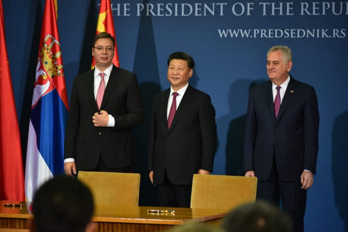 Chinese President Xi Jinping Concludes Serbia Visit