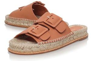 Paloma Barcelo Rachelle Leather Sandals