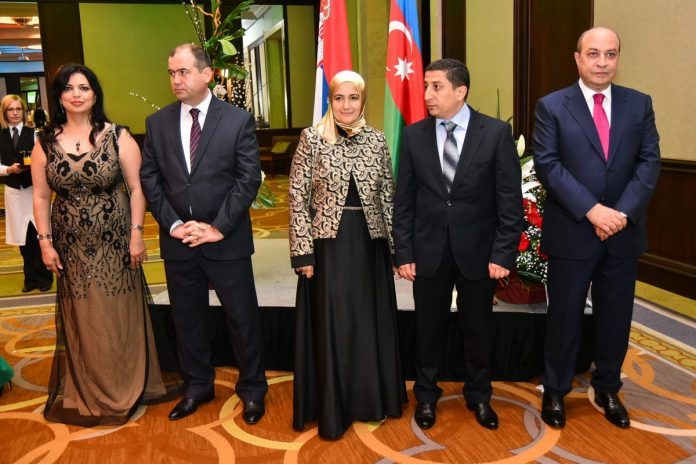 National Day of Azerbaijan Celebrated in Belgrade 2016