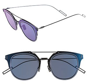 Christian Dior Metal Shield Sunglasses