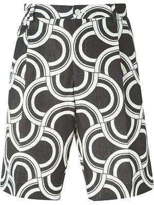 Dolce & Gabbana Optical Print Shorts