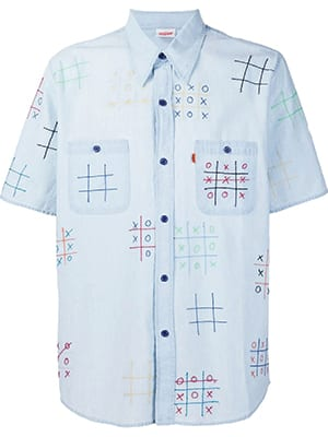 'Noughts and crosses' shirt