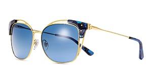Open-Wire Square Sunglasses