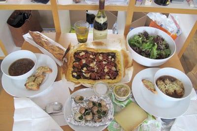 Tipična francuska večera