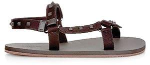 Valentino Cotton Sandals
