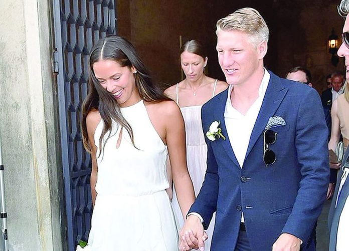 Schweinsteiger and Ana Ivanović Got Married