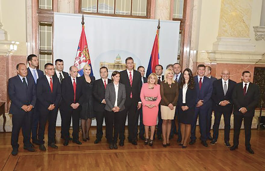 New Government of Serbia Elected