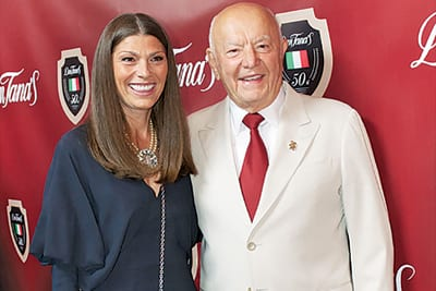 Dan Tana and his wife Biljana