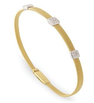 Marco Bicego Masai Triple Diamond Bracelet
