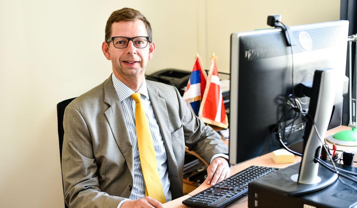 Morten Skovgaard Hansen, Head of Mission for the Embassy of Denmark in Belgrade