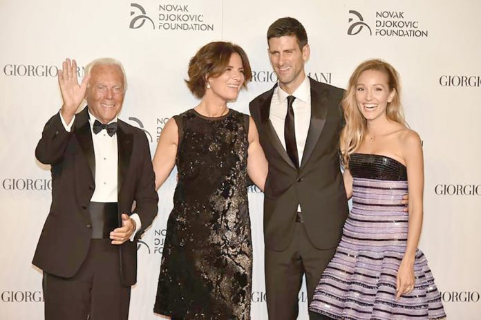 Novak Djokovic Foundation Holds Charity Gala Dinner