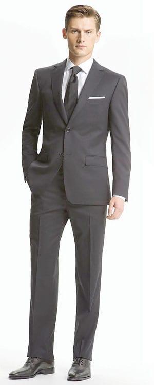 Z Zegna Trim Fit Wool Suit