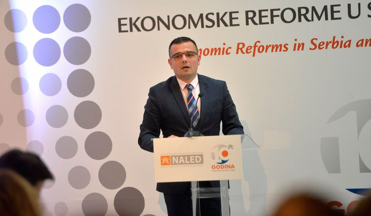 Branislav Nedimović, Minister Of Agriculture And Environmental Protection