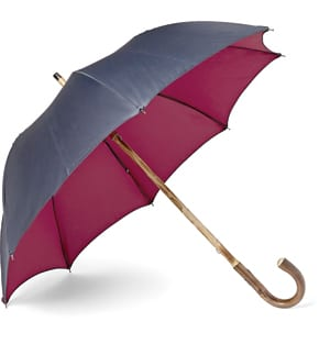 Francesco Maglia Lord Chestnut Two-Tone Umbrella