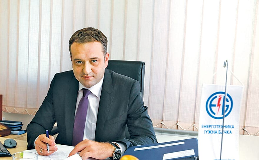 Branimir Mijailović, Director of Energotehnika-Južna Bačka
