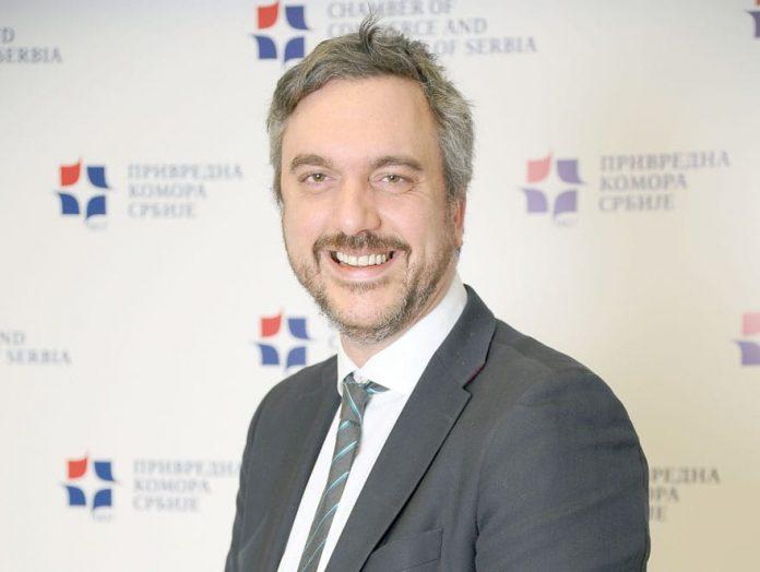 Marko Čadež President Of Serbian Chamber Of Commerce