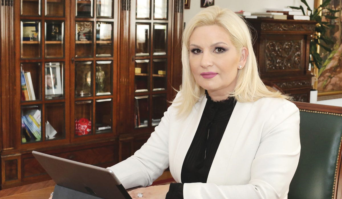 Zorana Mihajlović, Deputy Prime Minister and Minister of Construction, Transport and Infrastructure in the Government of Serbia