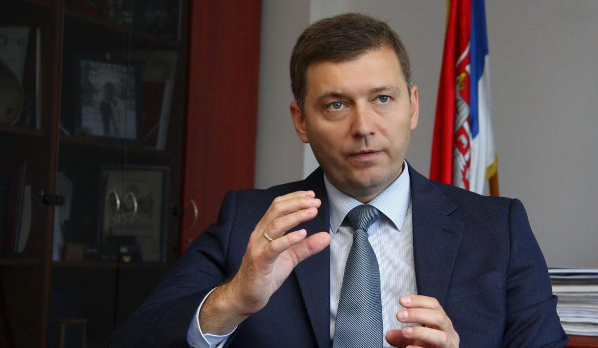 Nebojša Zelenović Mayor of Šabac